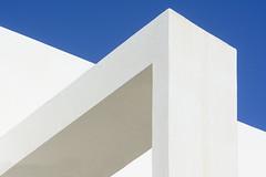 Geometry with white (Jan van der Wolf) Tags: map194434v geometric white wit lanzarote gebouw walls muren abstract