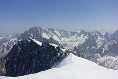 Aiguille du Midi @ Chamonix (*_*) Tags: europe france hautesavoie 74 chamonix aiguilledumidi montblanc 2019 summer ete june mountain snow nature glacier savoie
