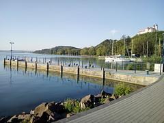 IMG_20190721_065404 (heizlergabor) Tags: yachts harbor monastery lake summer morning street palace old building