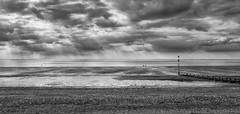 Skies wide open... (+Pattycake+) Tags: explored ©patriciawilden2019 hunstanton coastal norfolk northnorfolk uk seaside beach clouds wideangle sky bigsky landscape emptiness wideopenskies