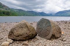 The Lake District, Centenary Stone Keswick (Deirdre Gregg) Tags: lakes lake district keswick windermere ambleside grasmere july 2019 stone kirkstone ullswater bowder centenary