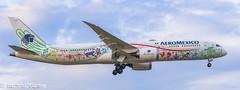 Boeing 787-9 Dreamliner / Aeromexico (Quetzalcoatl) (matdu20eme) Tags: avporn avgeek dreamliner boeing787 787 boeing aeromexico airliner airline aircraft airplane avion aviation