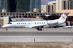 JetSuite X | Embraer ERJ-135 | N256JX | Las Vegas McCarran (Dennis HKG) Tags: jetsuitex jsx xe aircraft airplane airport plane planespotting canon 7d 100400 lasvegas mccarran klas las embraer erj135 e135 embraererj135 regionaljet n256jx