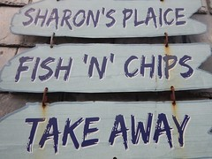 Sharon's Plaice (Dugswell2) Tags: sharonsplaice boscastle chipshop