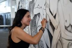 Natalie Ypma, Visual artist (Martijn van Veelen) Tags: visualartist artist streetartist streetart portrait portraitofawoman 100strangers