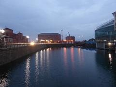 Princes Quay, facing towards marina, Hull.   July 2019 (dave_attrill) Tags: princesquay shoppingprecinct dock water hull eastyorkshire yorkshire humberside humber july 2019 night evening citycentre