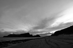 Island In Black & White (Coquine!) Tags: christianleyk portugal portosanto atlantic ocean sea island insel madeira clouds wolken beach strand blackwhite blackandwhite schwarzweiss sky himmel
