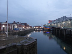 Princes Quay, Hull city centre.    July 2018 (dave_attrill) Tags: princesquay shoppingprecinct water dock hull eastyorkshire yorkshire humberside humber july 2019 night evening citycentre