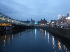 Princes Quay, facing towards city, Hull.   July 2019 (dave_attrill) Tags: princesquay dock shoppingprecinct water hull eastyorkshire yorkshire humberside humber july 2019 night evening citycentre