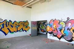 host 18 rime (Luna Park) Tags: ny nyc newyork brooklyn graffiti bando abandonment host18 dym rime msk lunapark
