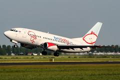 G-BVKB (PlanePixNase) Tags: amsterdam ams eham schiphol planespotting airport aircraft bmibaby boeing 737 b735 737500