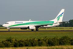 PH-HZC (PlanePixNase) Tags: amsterdam ams eham schiphol planespotting airport aircraft transavia boeing 737 b738 737800
