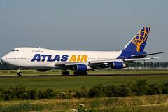 N540MC (PlanePixNase) Tags: amsterdam airport aircraft boeing schiphol ams eham planespotting atlasair cargo 747 jumbo 747200f b742
