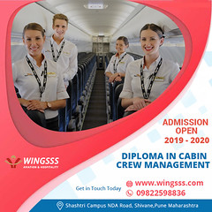 Diploma in Cabin Crew Management (Wingsss Aviation) Tags: hospitality management cabin crew airport