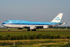 PH-BFS (PlanePixNase) Tags: amsterdam ams eham schiphol planespotting airport aircraft klm boeing 747 b744 747400 jumbo