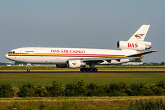 5X-JCR (PlanePixNase) Tags: amsterdam ams eham schiphol planespotting airport aircraft dasaircargo mcdonnell douglas dc10 dc1030 cargo