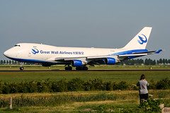 B-2428 (PlanePixNase) Tags: amsterdam ams eham schiphol planespotting airport aircraft greatwallairlines cargo boeing 747 b744 747400 747400f jumbo