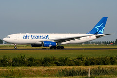 C-GITS (PlanePixNase) Tags: amsterdam ams eham schiphol planespotting airport aircraft airtransat airbus 330 330200 a332