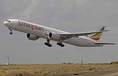Ethiopian Airlines Boeing 777-36N(ER) ET-APY (Fasil Avgeek (Global Planespotter)) Tags: ethiopian airlines boeing 77736ner etapy air airways airport bole add 777300er jet aircraft airplane airliner jetliner