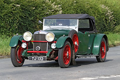 1932 Alvis Speed 20 SA (Roger Wasley) Tags: 1932 alvis speed 20 sa tj132 classic car vehicle prewar prescott