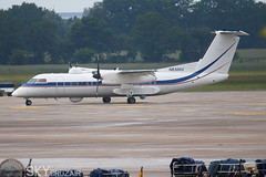 N8300G Dash 8 31MAY2019 (Skycruzair) Tags: aircraft airplane airbus boeing embraer antonov bae global express cessna planespotting hannover airport haj eddv