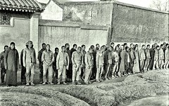 Prisoners in exercise yard, Peking Prison ca1918 [Gamble] (over 19 MILLION views Thanks) Tags: china chinese prisoners prison penitentiary 1918