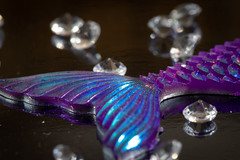 Fish tail (Maisiebeth) Tags: hmm macromondayfishing tails mermaid fish beads macro closeup gonefishing