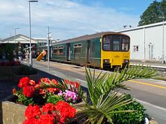 150002 Paignton (2) (Marky7890) Tags: gwr 150002 class150 sprinter 2f47 paignton railway devon rivieraline train