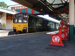 150002 Paignton (3) (Marky7890) Tags: gwr 150002 class150 sprinter 2f47 paignton railway devon rivieraline train