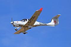 G-CTSG Diamond DA40 NG (aledy66) Tags: gctsg ef70300mm cranfield airport airplane aircraft egtc canon eos 6d mark ii mkii mk2 diamond da40 ng