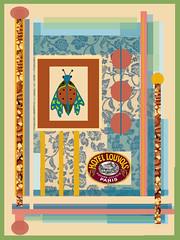 Hotel  Louvois (ladybumblebee) Tags: digitalart digitalcollage layers collage art hotellouvois