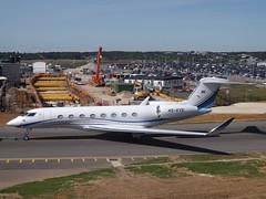 HS-KVS Gulfstream G650ER (King Power International) (Aircaft @ Gloucestershire Airport By James) Tags: luton airport hskvs gulfstream g650er king power international bizjet eggw james lloyds