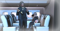 # 95 let's go on holidays (llrubyll resident) Tags: luxurious airplane champagne love holidays couple lelutka maitreya body mesh head class poses blog svp together go mylove