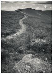 Mam Tor ascent (S.R.Murphy) Tags: blackandwhite bw landscape peakdistrict bnw mamtor whiteandblack july2019 uk greatbritain england mountain monochrome composition summit fujifilmx100t