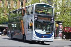 GoNW Volvo B5LH 39214 BN61MWO - Manchester (dwb transport photos) Tags: gonorthwest volvo hybrid wright eclipse gemini bus decker 39214 bn61mwo manchester