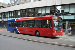 GoNW Volvo B7RLE 4982 NK54NUP - Manchester (dwb transport photos) Tags: gonorthwest volvo wright eclipse bus 4982 nk54nup manchester