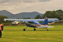 N185RH Cessna 185A (eigjb) Tags: derryogue airfield kilkeel codown ireland flyin light aircraft airplane plane spotting aviation aeroplane 2019 mourne flying club n185rh cessna 185a c185 cessna185