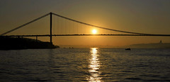 Bosphorus/Istanbul (meren34) Tags: bridge bosphorus sunset istanbul sea sun evening architecture shadow turkey