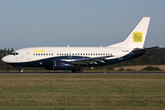 9h-ome b735 eggw (Terry Wade Aviation Photography) Tags: b735 eggw