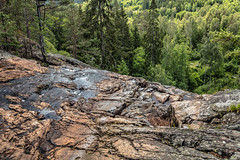 On the edge of the waterfall (Thor Edvardsen) Tags: elgå elv river edge elgåfossen sverige sweden norway norge nature nordic trees waterfall water canon canon5dsr ef24105mmf4lisusm