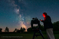 Finding Targets with the C8 (Amazing Sky Photography) Tags: c8 celestron equipment goto milkyway finding seflie telescope