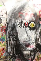 John Lennon (blinker1990) Tags: john lennon wall grafitti prag