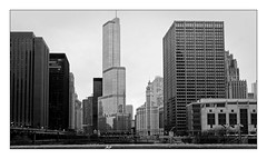 Chicago's Buildings (Jean-Louis DUMAS) Tags: architecture blackandwhite bw white chicago black building tower art monochrome reflecting blackwhite illinois noir noiretblanc photos sony ngc award nb bn architectural architect et blanc bâtiment bnw v2 batiment maniac twop noire architecte noretblanc noireblanc blackwhitephotos architecturale city cityscape