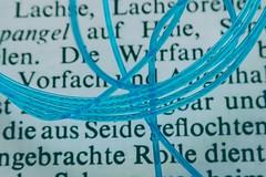 Angelschnur, HMM! (dorotheazinsser) Tags: macromondays gonefishing angelschnur fishingline