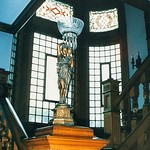 - Grand Rapids  Michigan  - Ralph Voigt House and Museum - Newel Post Lamp - Heritage Hill | thumbnail