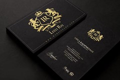 Gold bussiness card (imrantaibani789) Tags: bussiness card graphics designer