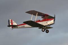 DH82 Tiger Moth T6918 G-ANKT Shuttleworth Collection (Richard.Crockett 64) Tags: dehavilland dh82 tigermoth t6818 gankt biplane trainer raf royalairforce ww2 worldwartwo shuttleworthcollection eveningairshow oldwarden bedfordshire 2019
