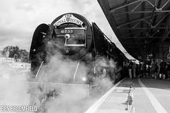 The Royal Duchy @ EXD (Ben_Broomfield) Tags: railtour duchesssofsutherland uk nikon railway trains steam exeter railways steamtrain d500 steamloco 6233 uksteam ukrailways nikond500