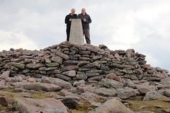 Made It! (steve_whitmarsh) Tags: aberdeenshire scotland scottishhighlands highlands landscape mountain hills summit rock rocks topic