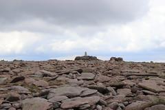 Approaching the Summit (steve_whitmarsh) Tags: aberdeenshire scotland scottishhighlands highlands landscape mountain hills summit rock rocks topic